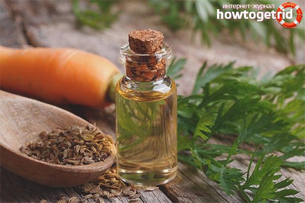 Морковное масло в косметологии