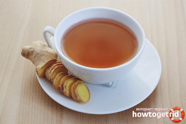 Можно ли беременным пить чай с имбирем