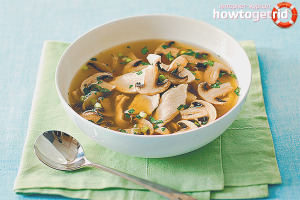 Можно ли грибной суп кормящей маме