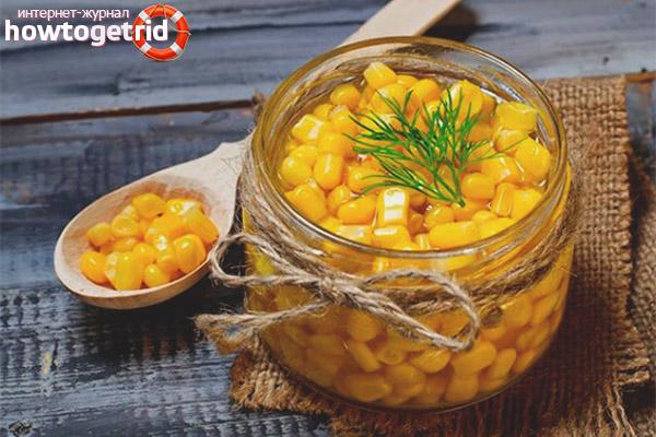 Можно ли консервированную кукурузу кормящей маме