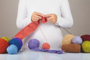 Можно ли во время беременности вязать