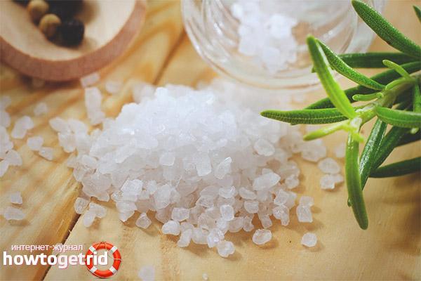 Общие рекомендации по использованию морской соли