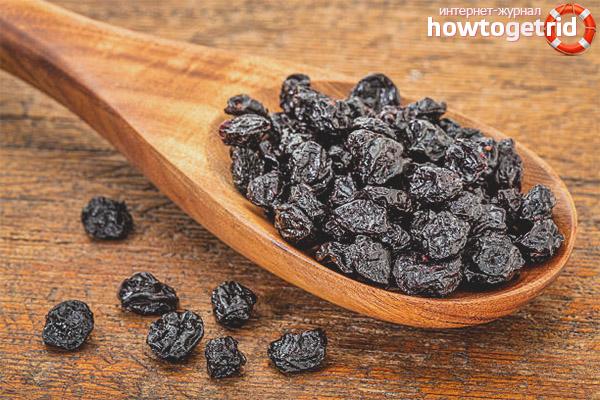 Полезные свойства и применение сушеной черники