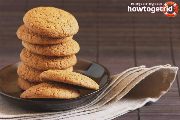 Полезные свойства овсяного печенья