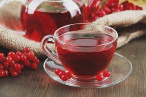 Польза и вред чая с калиной