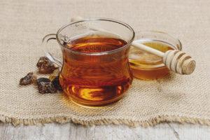 Польза и вред чая с медом