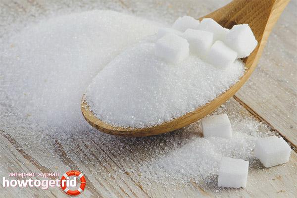 Польза сахара при лактации