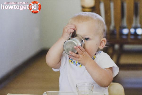 Рекомендации педиатра по употреблению чая детьми