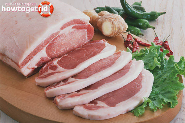 Свинина при грудном вскармливании
