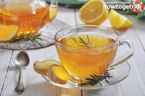Употребление имбирного чая во время беременности