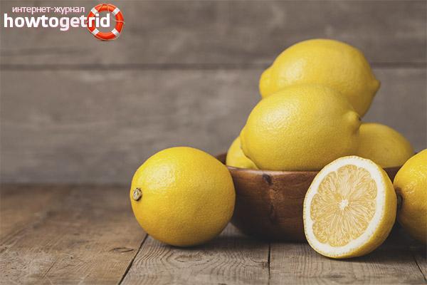 Вред лимон при грудном вскармливании