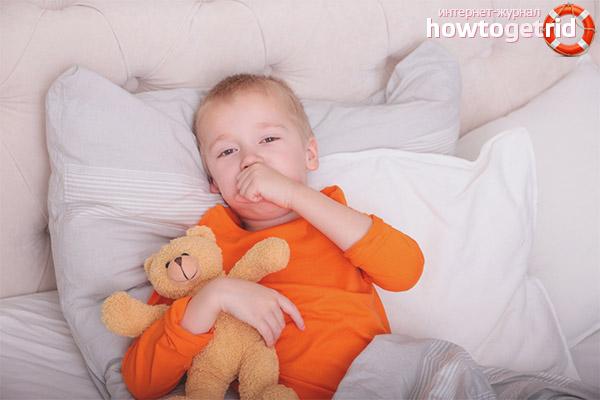 Что делать, если ребенок кашляет по ночам