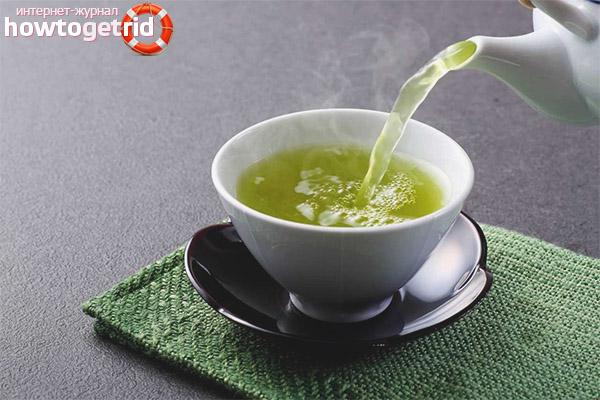 Как правильно пить зелёный чай кормящей маме