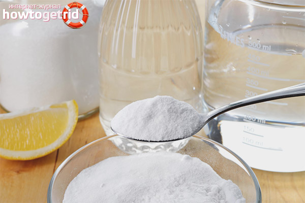 Как правильно развести раствор пищевой соды