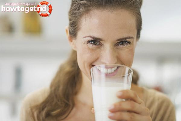 Как вводить в рацион молоко кормящей маме