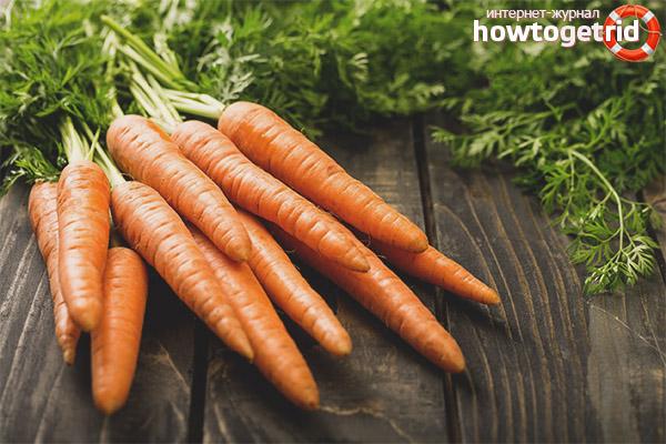 Морковь при сахарном диабете
