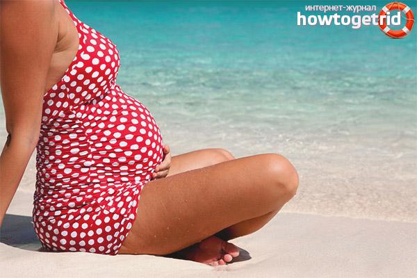Можно ли беременным ездить на море