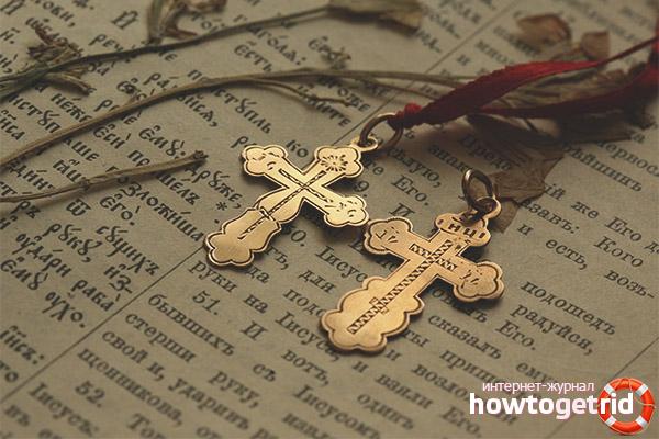 Можно ли дарить крестики на день рождения