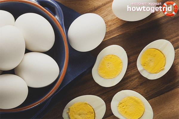 Можно ли есть яйца после тренировки
