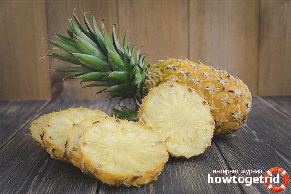 олезные свойства ананаса при беременности