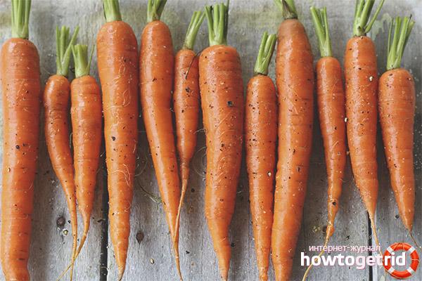 Полезные свойства моркови при диабете