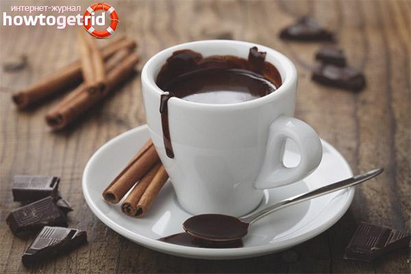 Польза и вред горячего шоколада