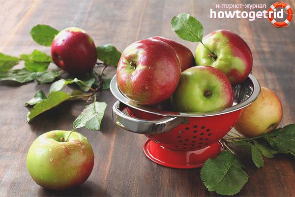 Правила употребления яблок при сахарном диабете