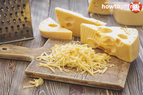 Правила выбора сыра при сахарном диабете