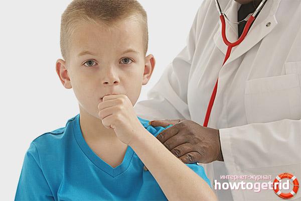 Профилактика и лечение кашля у детей