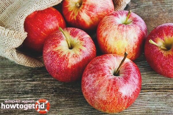 Рецепты с яблоками для диабетиков