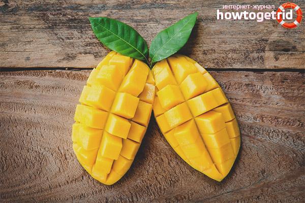 Как употреблять манго при диабете