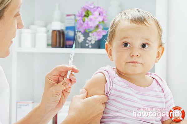 Можно ли гулять с ребенком после прививки