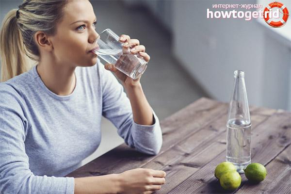 Можно ли пить воду сразу после еды