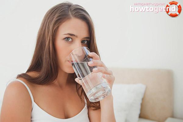 Что делать, если хочется пить после еды
