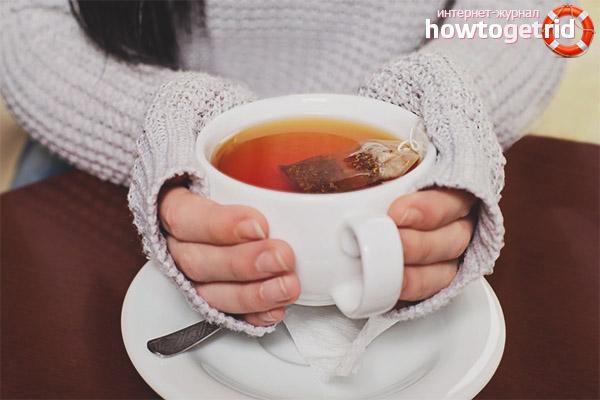 Что происходит, когда чай смешивается с пищей