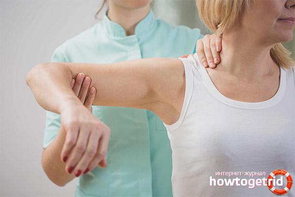 Лечение синдрома замороженного плеча