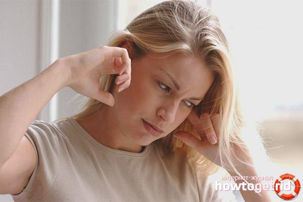 Шум в ушах и голове