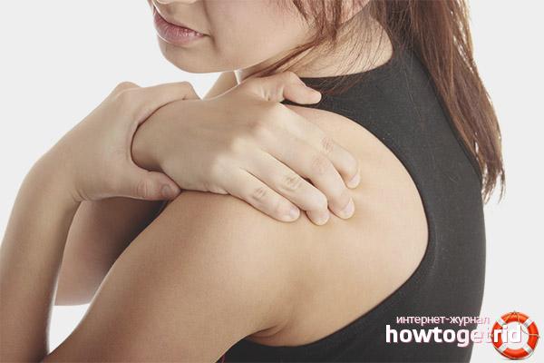Синдром замороженного плеча