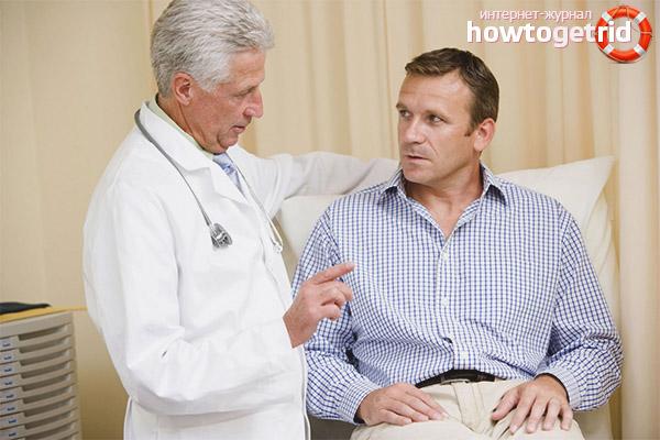 Как поступить при обнаружении диабета у мужчины