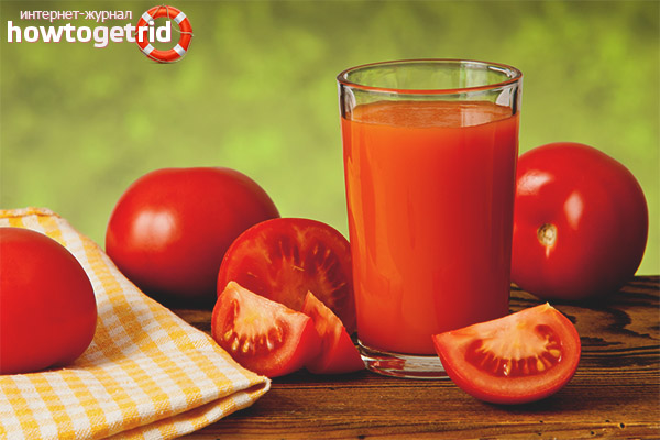 Ценность томатного сока