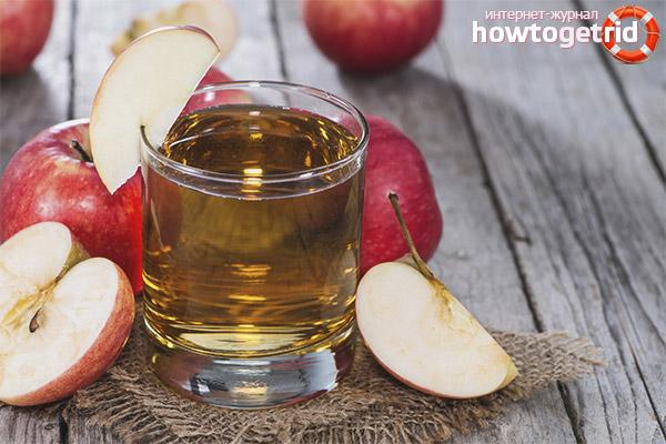 Яблочный сок для похудения