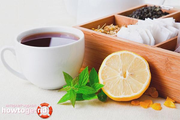 Как правильно пить чай с лимоном