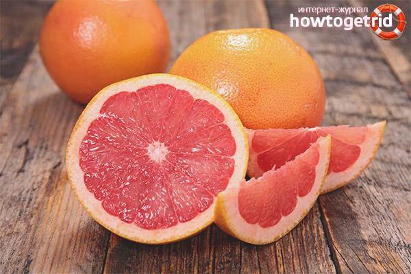 Как выбирать грейпфрут