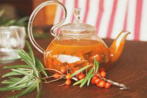 Как заварить чай с облепихой