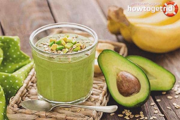 Особенности приготовления смузи из авокадо