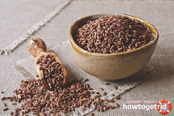 Пищевая ценность красного риса