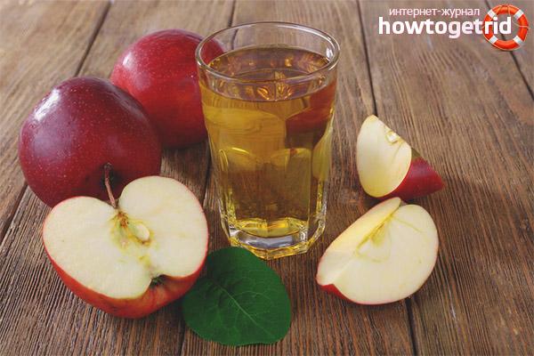 Плюсы и минусы яблочного сока для похудения