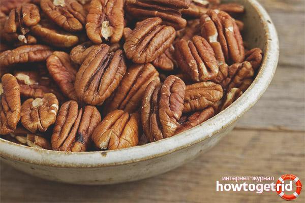 Полезные свойства и противопоказания ореха пекан