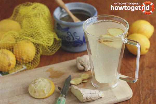 Рецепты имбиря с лимоном для похудения