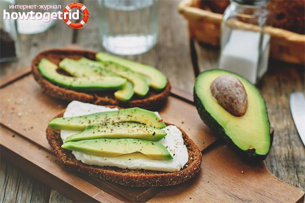 С чем кушать авокадо
